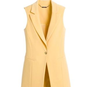 WHBM Sleeveless Blazer